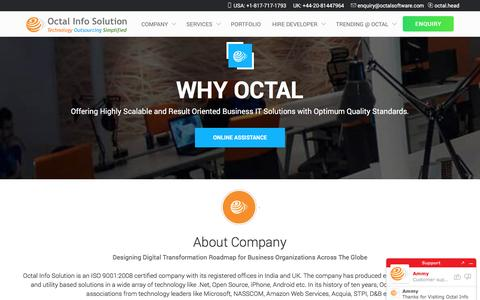 Why Octal As a Technology Partner