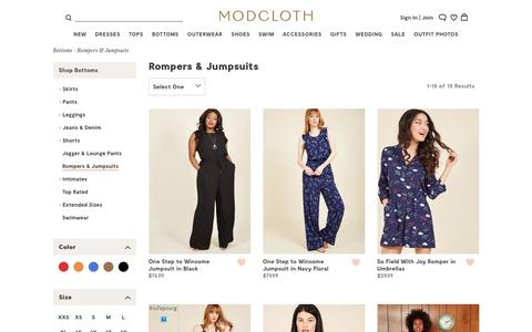 Rompers & Jumpsuits | ModCloth