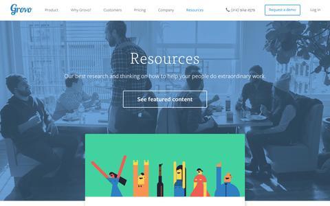Training Resources | Workforce Development Strategies - Grovo