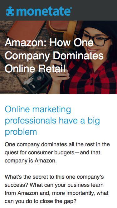 Amazon: How One Company Dominates Online Retail