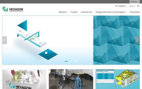 Screenshot of hexagonmi.com - Hexagon Manufacturing Intelligence | Hexagon Manufacturing Intelligence - captured Nov. 25, 2017