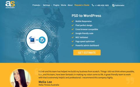 Psd to wordpress | psd to wp| psd to wordpress services| psd to wordpress conversion