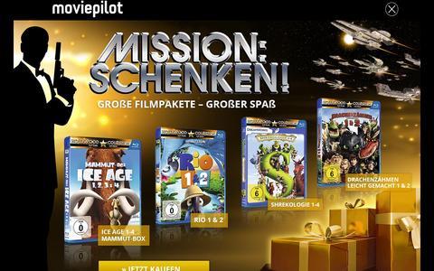 Screenshot of Press Page moviepilot.de - Aktuelle News rund um Kino, TV & DVD - MOVIEPILOT NEWS - captured Dec. 2, 2015