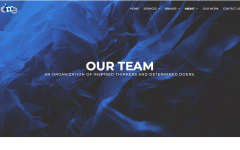 Screenshot of Team Page dmedelivers.com - Our Team - DME Delivers - captured Feb. 28, 2018