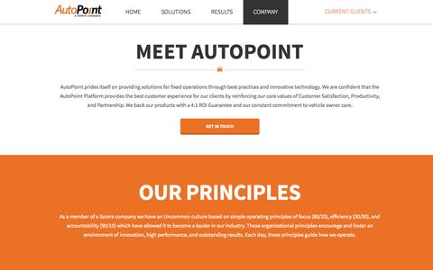 Screenshot of Jobs Page autopoint.com - AutoPoint   –  Company Temporary - captured Nov. 2, 2014