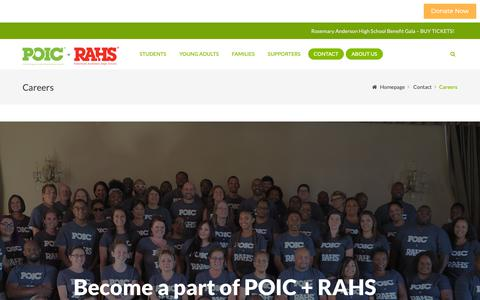 Screenshot of Jobs Page portlandoic.org - careers - captured Sept. 28, 2018