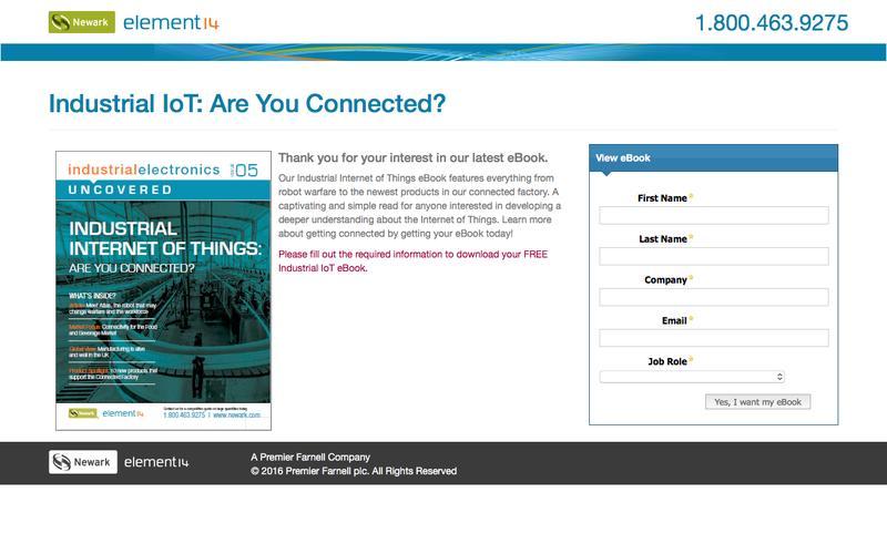 Free eBook: Industrial IoT