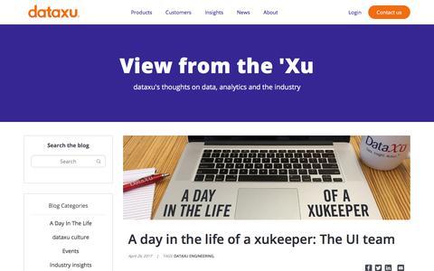 Screenshot of Team Page dataxu.com - (12) New Messages! - captured Nov. 18, 2019