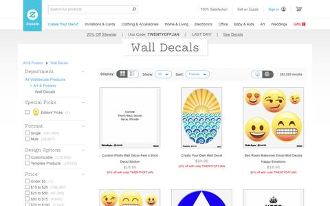 Wall Decals & Wall Stickers | Zazzle