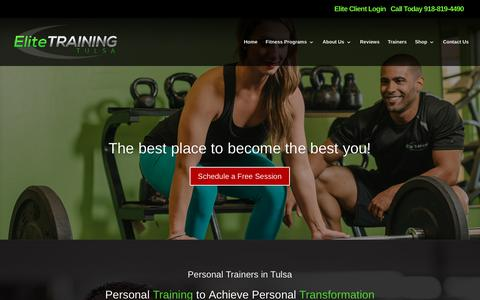 Personal Training Tulsa | Elite Training Tulsa