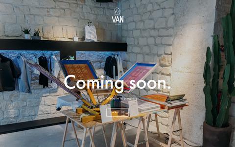 Screenshot of Home Page printvanparis.com - Print Van ParisPrint Van Paris - sérigraphie ambulante - captured July 22, 2018