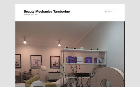 Screenshot of Home Page beautymechanics.com.au - Beauty Mechanics Tamborine | Advanced Skin Clinic - captured July 28, 2016