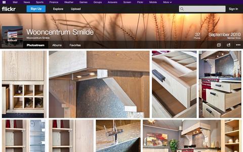 Screenshot of Flickr Page flickr.com - Flickr: Wooncentrum Smilde's Photostream - captured Oct. 26, 2014