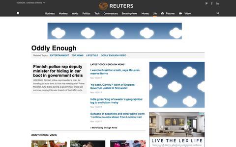 Weird News, Odd News, Funny News Stories  | Reuters.com