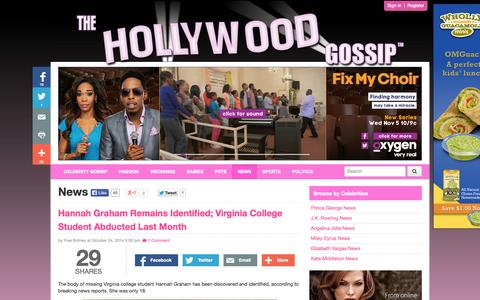 Screenshot of Press Page thehollywoodgossip.com - News - The Hollywood Gossip - captured Oct. 26, 2014