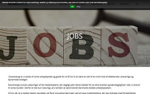 Screenshot of Jobs Page scanenergi.dk - Jobs - captured Oct. 5, 2017