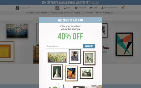 Art.com - Art Prints, Framed Art, Home Accessories, and Wall Art Ideas