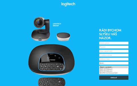 Screenshot of Landing Page logitech.com - Logitech | Contact Us - captured May 24, 2017