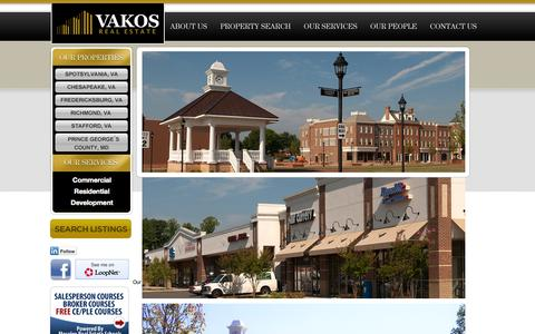 Screenshot of Home Page vakosre.com - Vakos Real Estate | Vision. Achievement. Knowledge. Objective. Success. - captured Oct. 6, 2014