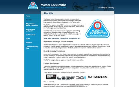 Screenshot of About Page masterlocksmiths.com.au - Locksmithing | 24 Hour Locksmith | Auto & Car Locksmith | About Us - captured Nov. 27, 2016