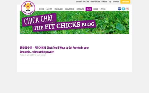 Blog — FIT CHICKS  Chick Chat, The Fit Chicks Blog