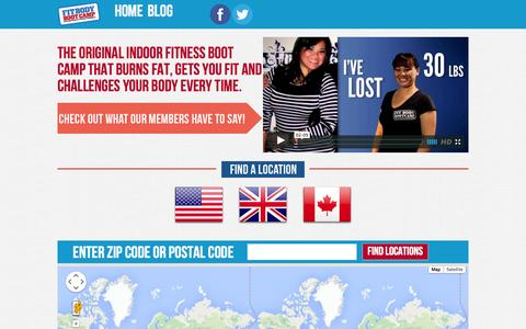 Screenshot of Home Page fitbodybootcamp.com.au - Home   Fit Body Boot Camp - captured Jan. 28, 2015