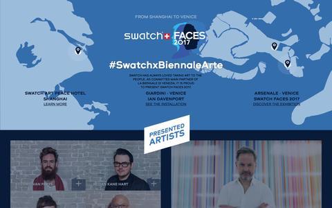 Swatch Presents Biennale Arte 2017 - VIVA ARTE VIVA
