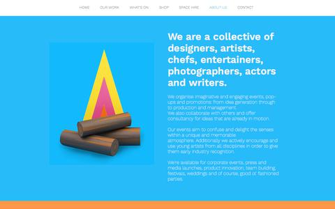 Screenshot of About Page therobincollective.co.uk - The Robin Collective - About Us - captured Sept. 21, 2018