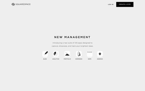 Mobile Apps — Squarespace