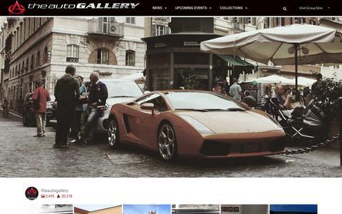 Screenshot of Blog Press Page theautogallery.com - The Auto Gallery Blog | Automotive Lifestyle - captured Dec. 16, 2016