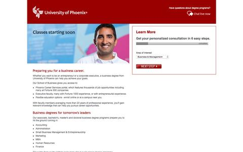 Online Degree Programs Online Degree Programs University Of Phoenix