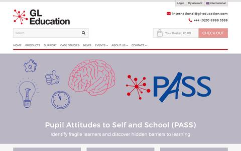 Pupil Attitudes to Self and School (PASS)