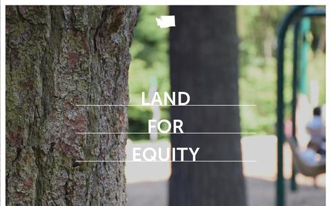 Screenshot of Home Page forterra.org - Forterra | For the people. For the land. Forever. - captured Aug. 17, 2018