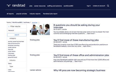 popular articles on workforce360