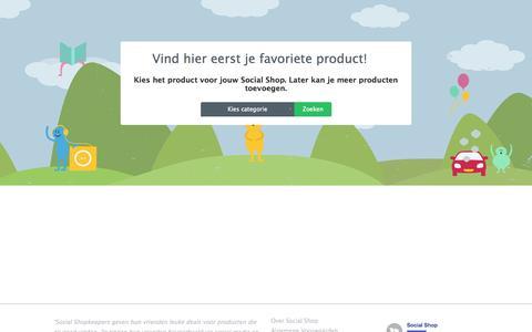 Screenshot of Signup Page socialshop.nl - Social Shop - Alle favorieten voor een vriendenprijs - captured Sept. 17, 2014