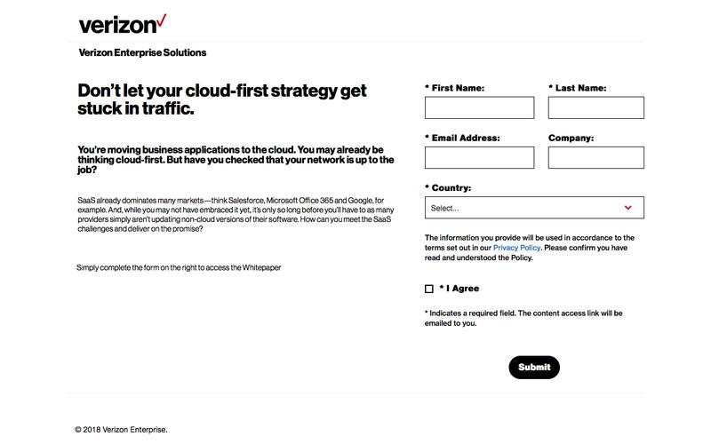 Don't let your cloud-first strategy get stuck in traffic. Whitepaper