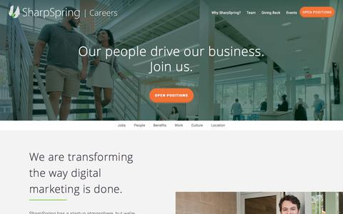 SharpSpring Careers