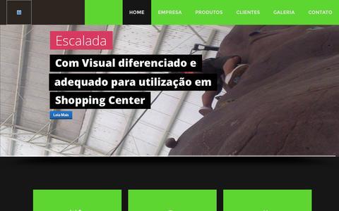 Screenshot of Home Page verticalize.com.br captured Sept. 30, 2014