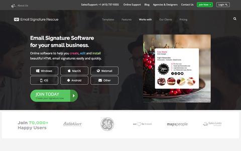 Email Signature Rescue | Create your own email signature