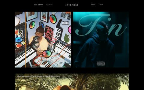 Screenshot of Home Page internet-band.com - INTERNET - captured Feb. 5, 2017