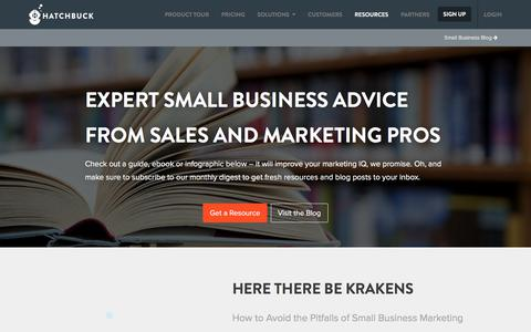 Small Business Marketing Resources, Guides & More
