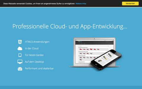 Screenshot of Home Page pdmlab.com - PDMLab | ASP.NET Web API und Node.js Microservices in Docker, Azure und AWS | App- und Software-Entwicklung mit AngularJS, HTML5 und CSS3 aus Karlsruhe - captured Oct. 3, 2016