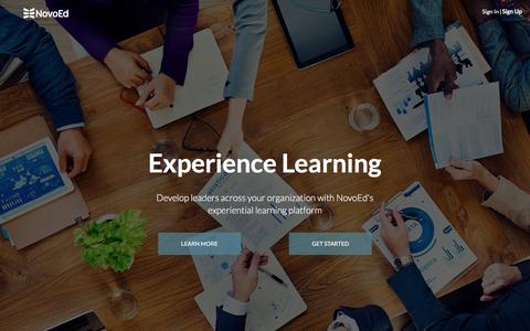 Social learning and professional development | NovoEd | NovoEd