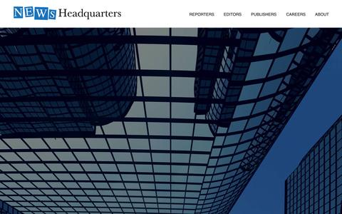 Screenshot of Home Page nhq.com - News Headquarters - At News Headquarters we're changing the game. - captured Sept. 19, 2014