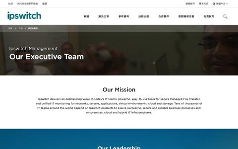 Screenshot of Team Page ipswitch.com - Our Team - About Ipswitch  - Ipswitch - captured Jan. 14, 2018