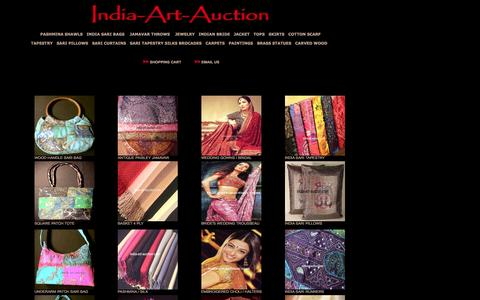 Screenshot of Home Page india-art-auction.com - India-Art-Auction.com - captured June 14, 2016