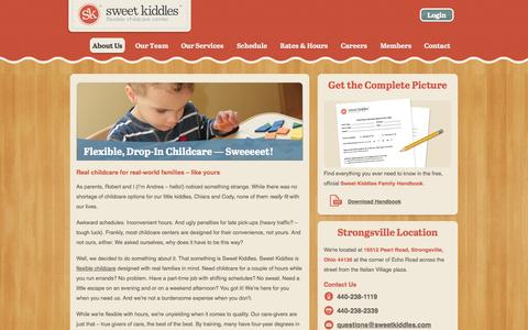 Screenshot of About Page sweetkiddles.com - What is Sweet Kiddles? - Sweet Kiddles - captured Oct. 6, 2014