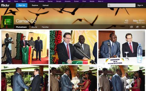 Screenshot of Flickr Page flickr.com - Flickr: Camair-Co's Photostream - captured Oct. 22, 2014