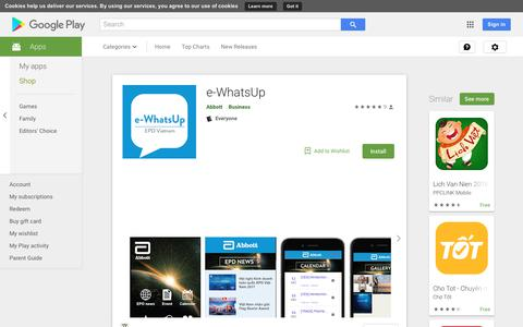 e-WhatsUp - Apps on Google Play