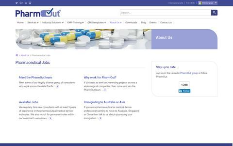Pharmaceutical jobs